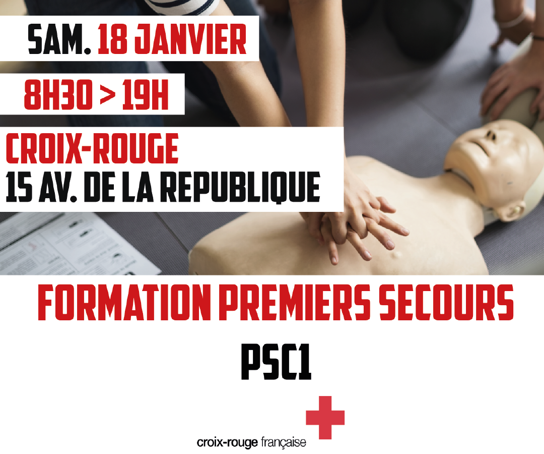 Formation Premiers Secours Psc1 Chateau Thierry