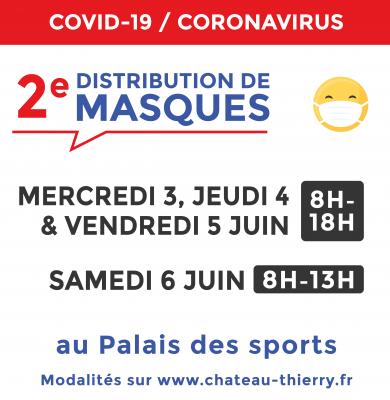 2e distribution de masques