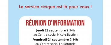 Réunion d'information sur le service civique