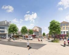 Projet de rénovation de la place du Maréchal Leclerc