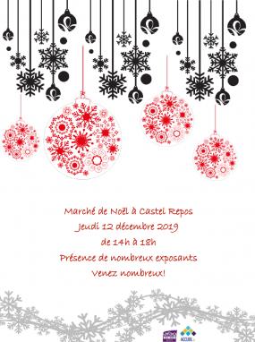 Marché de Noël à Castel Repos