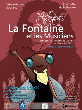 La Fontaine et les Musiciens