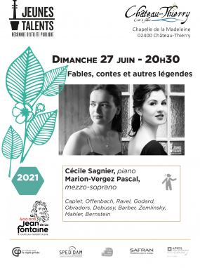 Concert Jeunes Talents - Fables, contes et autres légendes