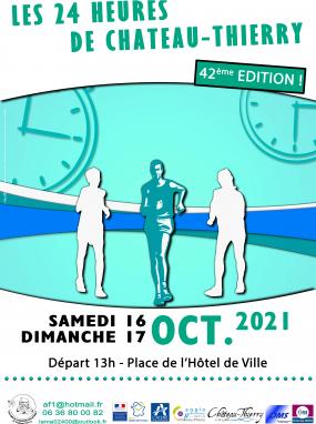 42ème édition des 24 heures de marche de Château-Thierry