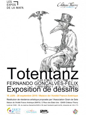 "Vernissage de l'exposition de dessins ""Totentanz"""
