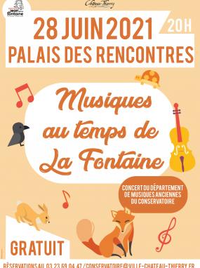 Concert - Musique au temps de La Fontaine