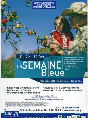 Marche bleue - La semaine bleue
