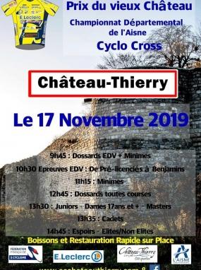 Championnat Départemental de l'Aisne Cyclo Cross