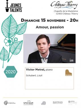 Concert Jeunes Talents - Amour, passion