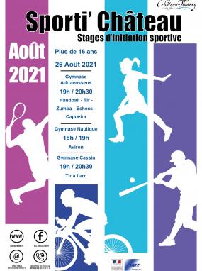 Stages d'initiation sportive pour les 16 ans et plus