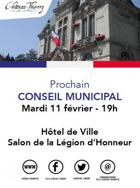 Conseil Municipal du 11 février 2020