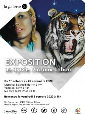 Exposition de Sylvie Ducloux Lebon à la Galerie 53