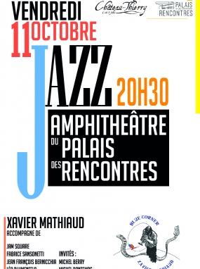 Concert de jazz - Xavier Mathiaud