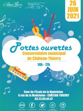 Portes ouvertes du Conservatoire municipal de Château-Thierry