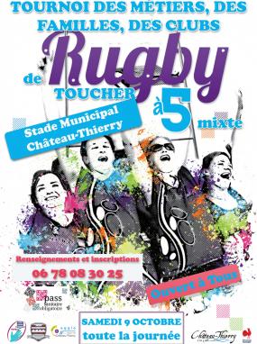 Tournoi des métiers, des familles et des clubs de rugby à 5
