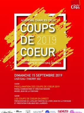 Coups de Coeur 2019 de l'Académie Charles Cros