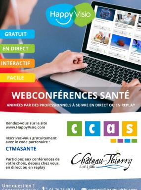 Webconférence - Préservons notre santé : équilibre alimentaire et activité physique