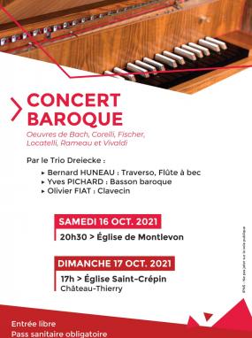 Concert baroque par le Trio Dreiecke
