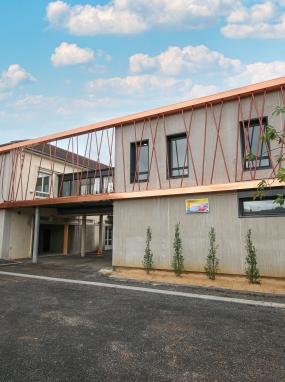 Inauguration de l'extension de l'école Juge Magnaud