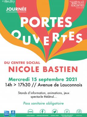 Journée portes ouvertes du centre social Nicole Bastien