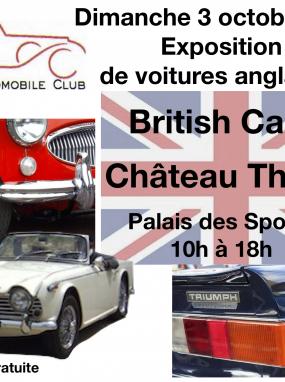 Exposition de voitures anglaises