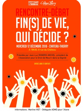 Rencontre-débat : Fin de vie, qui décide ?
