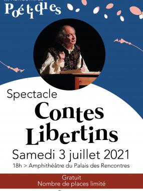Spectacle - Les contes libertins de Jean de La Fontaine