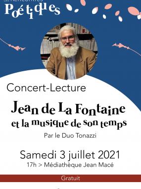 Concert-lecture - Jean de La Fontaine et la musique de son temps