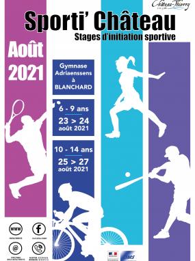 Sporti' Château, stage d'initiation sportive
