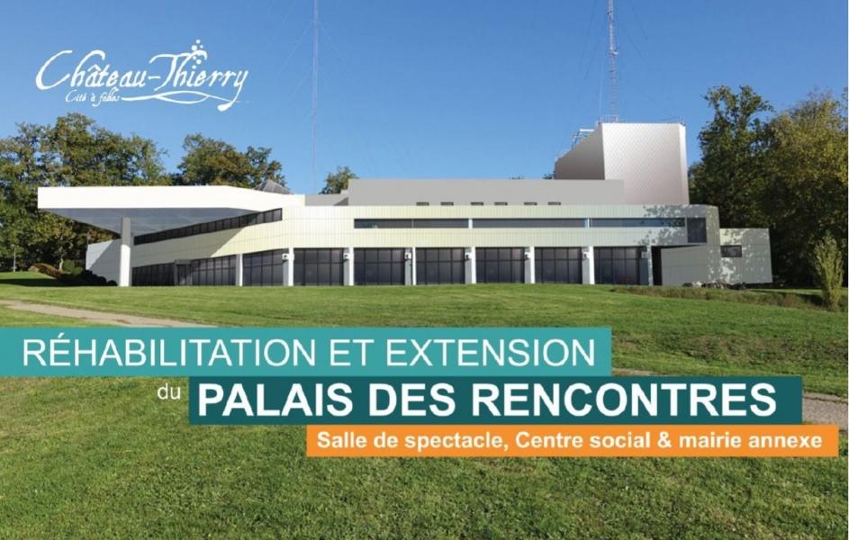 Programme palais des rencontres chateau thierry