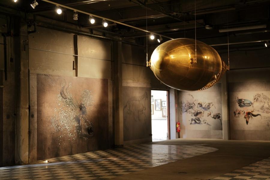 Le silo espace d 39 expositions temporaires ch teau thierry for Piscine chateau thierry