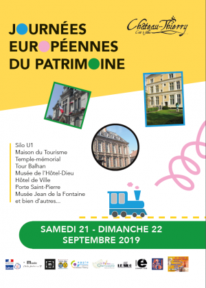 Journées Européennes du Patrimoine 2019 affiche