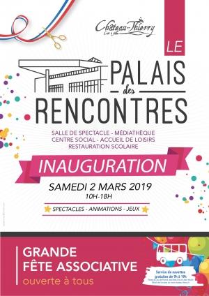Inauguration du Palais des Rencontres - Grande fête associative