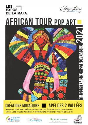 Exposition - African Tour Pop Art
