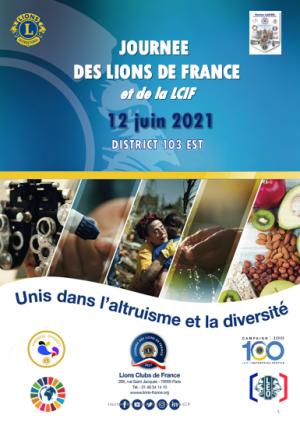 Journée nationale des Lions Club de France