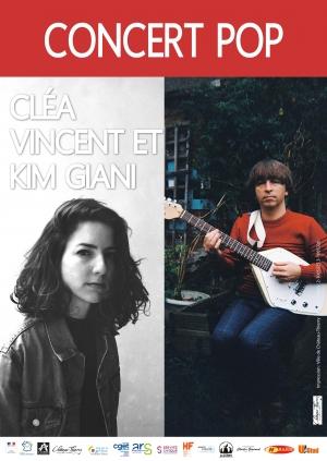 Concert - Cléa Vincent et Kim Giani