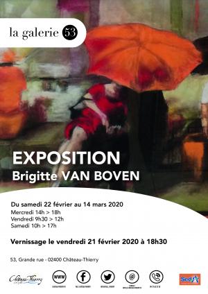 Exposition Brigitte Van Boven