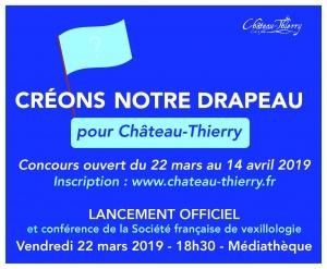"""Concours """"Créons notre Drapeau"""" pour Château-Thierry"""