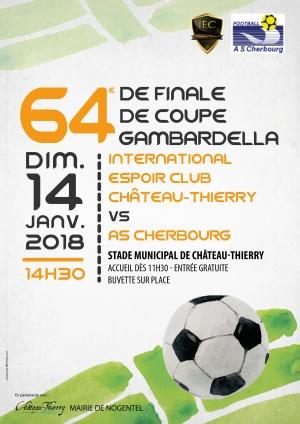 64ème de finale de coupe Gambardella