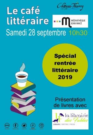Le café littéraire