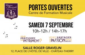 Portes ouvertes du Centre de l'Union Musicale de Château-Thierry