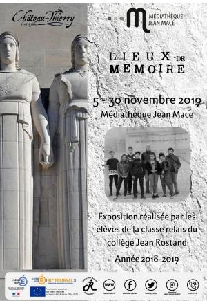 Exposition Lieux de Mémoire