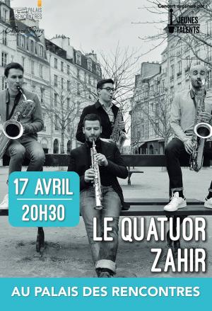 Jeunes Talents : Le Quatuor Zahir