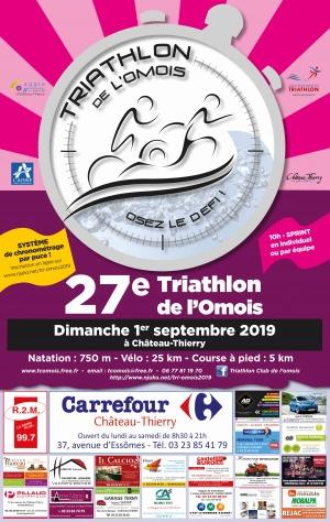 27e Triathlon de l'Omois