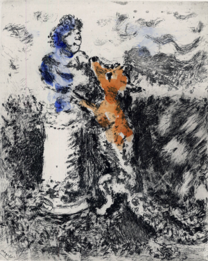 Chagall, illustration des fables