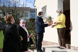 Remise des prix du concours de fleurissement