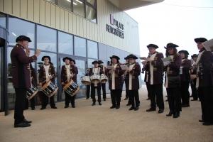 Inauguration du Palais des Rencontres par l'Union Musicale de Château-Thierry