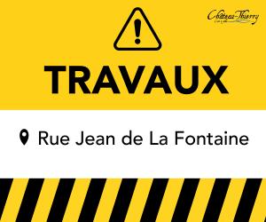 Fermeture à la circulation de la rue Jean de La Fontaine