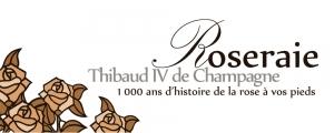 La roseraie Thibaud IV de Champagne