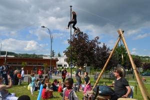 cirque centre social La Rotonde